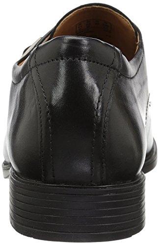 Loafer Miedergürtel schwarzem Leder aus Clarks Herren Stil Tilden nqtftZIF