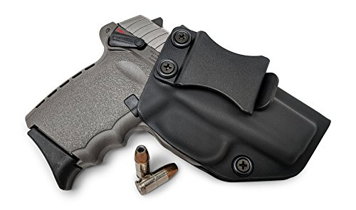 Concealment Express IWB KYDEX Gun Holster: fits SCCY CPX-1 / CPX-2 - Custom Molded Fit - US Made - Inside Waistband Concealed Carry Holster - Adj. Cant & Retention
