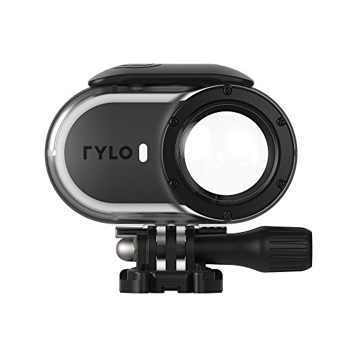 Rylo Water Housing 360 Video Camera Adventure Case, Black/Clear (A0101)