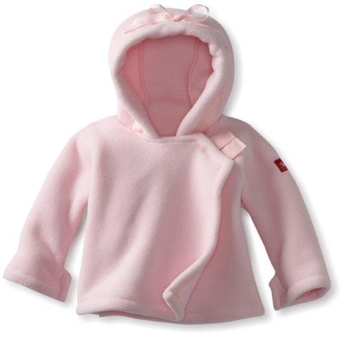 Fleece Baby Fleece Wrap (Widgeon Unisex Baby Fleece Wrap Jacket, Light Pink, 12 Months)