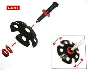 Leki - Disco giratorio para bastones de senderismo