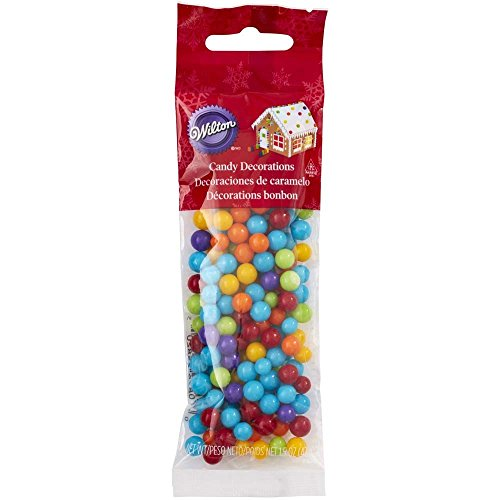 Wilton 710-5820 Gingerbread House Candy Decorations, Multi (Gingerbread Candy)