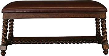 Surprising Amazon Com Euroluxhome New Kitchen Bench Barley Twist Wood Pdpeps Interior Chair Design Pdpepsorg