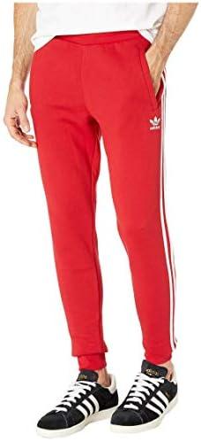 [adidas(アディダス)] メンズパンツ・長ズボン・ジャージ下 3-Stripes Pants Power Red L [並行輸入品]