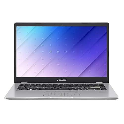 "ASUS E410MA-EK018TS - Ordenador portátil 14"" FullHD(Celeron N4020, 4GB RAM, 64GB EMMC, Intel UHD Graphics 600, Windows 10 Home) Blanco Sueño - Teclado QWERTY español a buen precio"