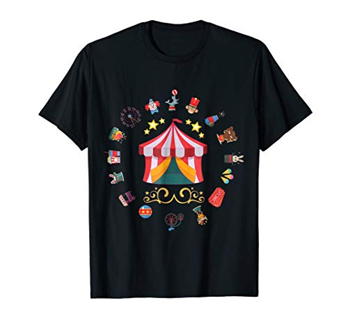 Circus Clowns, Circus Tents, and Carnival Shirt]()