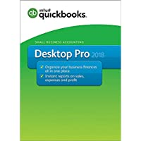 Intuit QuickBooks 2018 Small Business Accounting Software