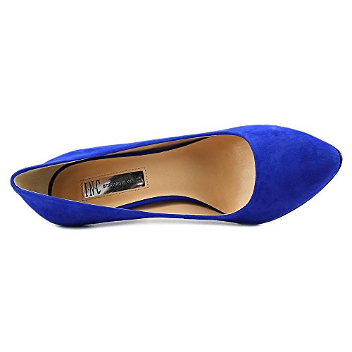 INC International Concepts Women's Zitah Pointed Toe Classic Pumps Blue/Dazzling Blue vEpYbh2h