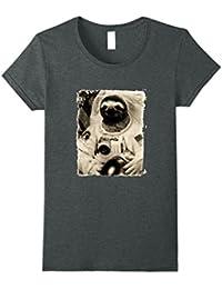 Sloth Astronaut T-Shirt Mens & Womens Sizes Black & White