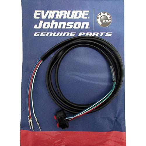 (OEM BRP Johnson Evinrude Outboard Trim & Tilt Switch w/Lead)