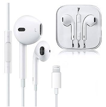 CECETIAO - Auriculares para iPhone 7/7 Plus, iPhone 8/8Plus, iPhone X (Conexión Bluetooth): Amazon.es: Electrónica