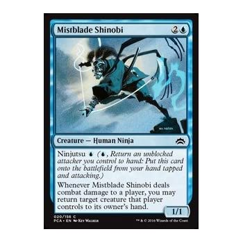 Amazon.com: Magic: the Gathering - Mistblade Shinobi (020 ...