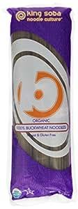 King Soba Gluten Free & Organic 100% Buckwheat Pasta Noodles 8.8oz - 4.5 Servings