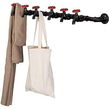 Amazon.com: Pipe Decor - Perchero de pared para tuberías ...