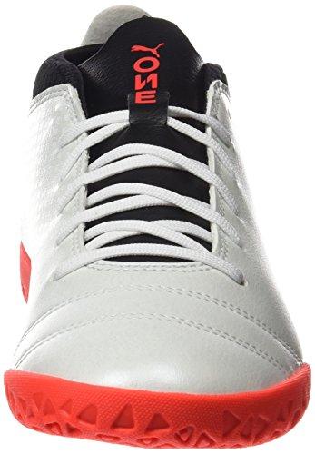 noir It Pour Puma Hommes Blanc 17 Blanc corail Chaussures One Football 4 ardent De n7YFwBqA