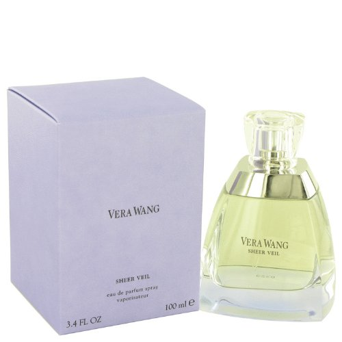 Vérá Wáñg SHEER VEIL by Vérá Wáñg for Women Eau De Parfum Spray 3.4 oz