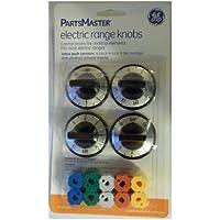 GE Partsmaster Electric Range Knob Set