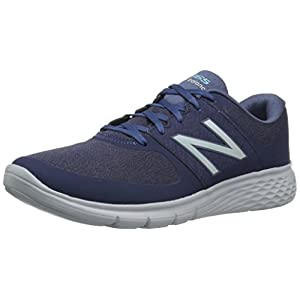 New Balance Women's WA365v1 Cush + Walking Shoe, Blue/White, 8.5 B US