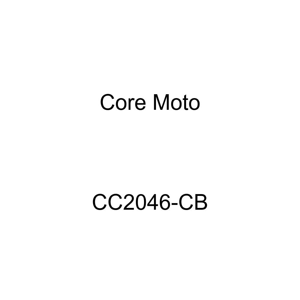 Core Moto CC2046-CB Road Carbon Black Fittings Combo Front & Rear Brake LINE KIT for Yamaha R6R (2006-2015) -3T Race ONLY