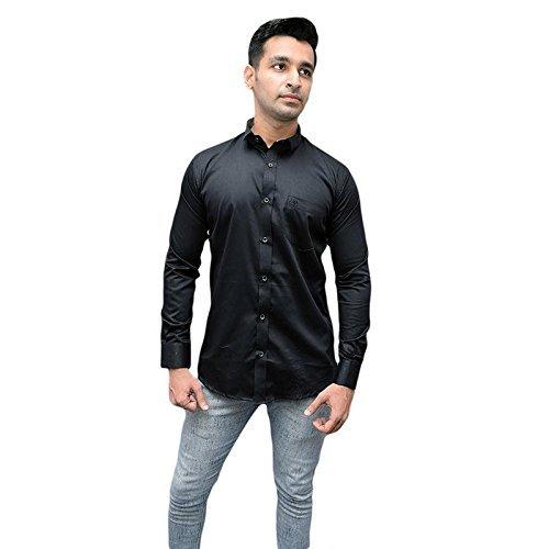 Haig Semi Formal Casual Satin Shirt For Mens Amazon Clothing