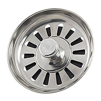TOOGOO(R) Kitchen Wash Basin Metal Garbage Disposer Sink Strainer Stopper