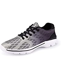 Mens Casual Walking Shoes Lightweight Breathable Running Tennis Sneakers