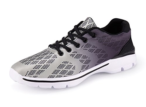 Image of Men's Lightweight Breathable Running Tennis Sneakers Casual Walking Shoes