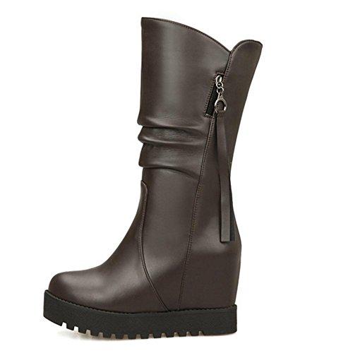 gomma impermeabile usura stagioni Rosso interno HQuattro Bianco black H elevato skid tavolo resistenza Marrone scarpa nero pieghevole di 40 donne mezzo azZgq4