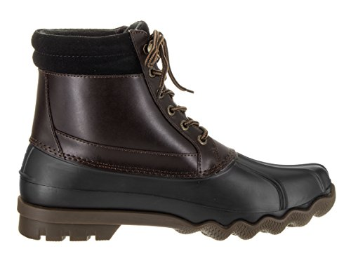Rain Boot Sperry Brewster Top Amretto Sider Men's Blk nvqqI8P7W