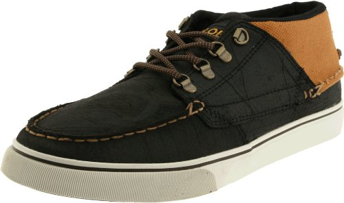 Globe Men's The Bender Athletic,Black Oiled Suede/Caramello,13 D(M) US ()