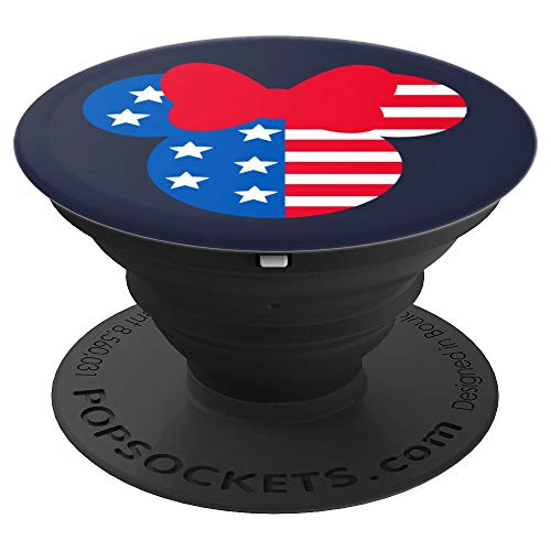 Disney Minnie Mouse Americana - PopSockets Grip and Stand for Phones and Tablets ()