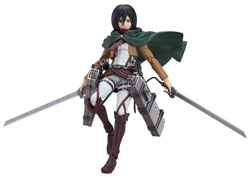 Good Smile Attack on Titan: Mikasa Ackerman Figma Action Figure by Good Smile
