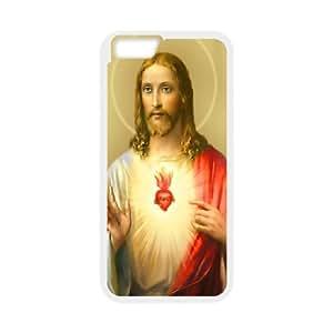 "Unique Design -ZE-MIN PHONE CASE- For Apple Iphone 6,4.7"" screen Cases -Jesus Christ Love Us-CUSTOM-DESIGH 2"