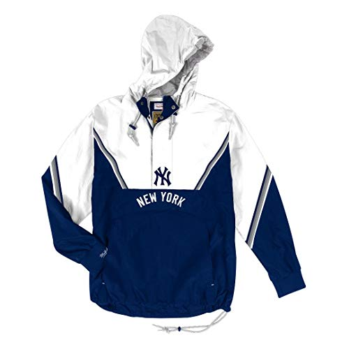 Mitchell & Ness New York Yankees MLB Men's Anorak Half Zip Pullover Jacket