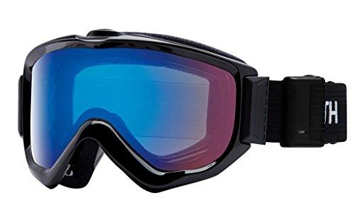 Smith Optics Knowledge Turbo Fan Goggle - Black Frame/ChromaPop Storm Rose Flash