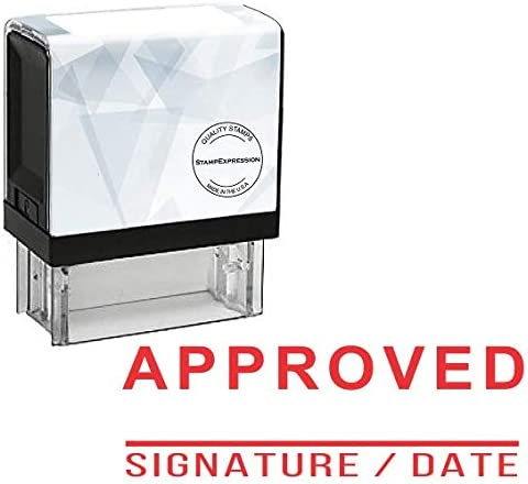 Approved Signature Office Inking Rubber