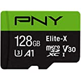 PNY 128GB Elite-X Class 10 U3 V30 microSDXC Flash Memory Card