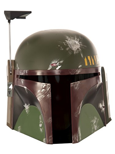 Rubie's Men's Star Wars Boba Fett Mask, As As shown, One Size -