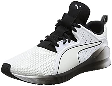 Puma Training Shoes for Women, White/Black 39 EU