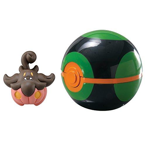 Pokémon Clip & Carry Poké Ball Pumpkaboo + Dusk Ball