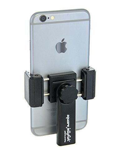 Square Jellyfish Spring Tripod Mount for Smart Phones 2-1/4 - 3-5/8 Wide Model: SPGMNT1078 Car/Vehicle Accessories/Parts