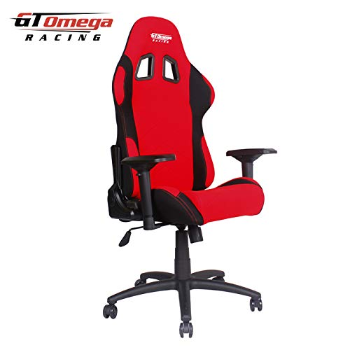 GT Omega Racing - Silla de Escritorio de Oficina, Color BXDW022(_10): Amazon.es: Hogar