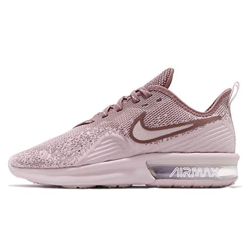 - Nike Women's WMNS Air Max Sequent 4, Particle Rose/Particle Rose, 8 US