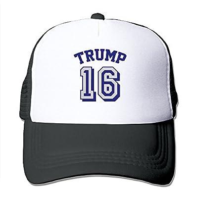 Donald Trump 16 Trucker Hat Adjustable Snapback Strap Mesh Cap (6 Colors)