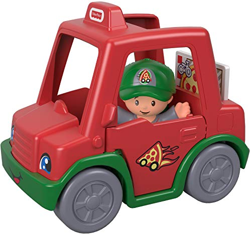 Fisher-Price Little People Have a Slice Pizza Delivery Car (Best Pizza Delivery Car)