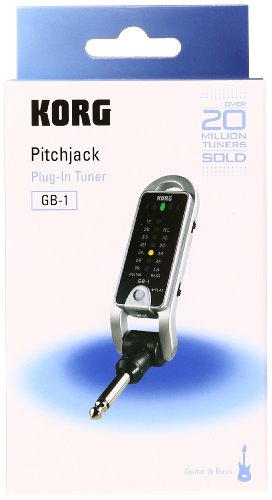 Korg GB1BK Folding Keychain/Pocket Tuner