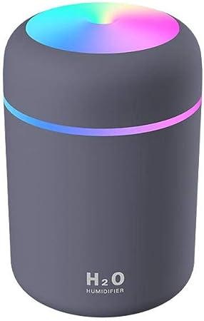 TangLong Humidificador USB portátil de 300 ml Purificador de humidificador de Aire difusor de Aroma ultrasónico-Azul Marino: Amazon.es: Hogar