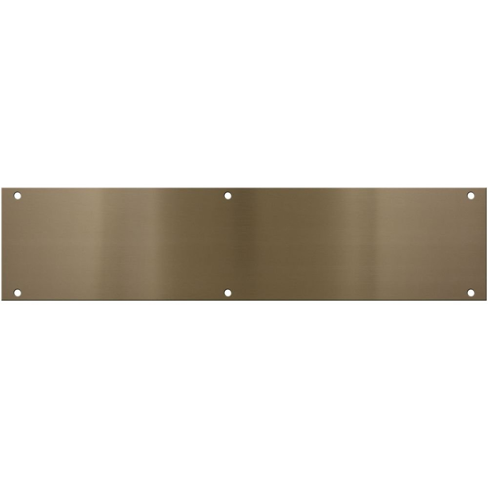 National Hardware N336-628 V1981 Push Plate in Antique Brass