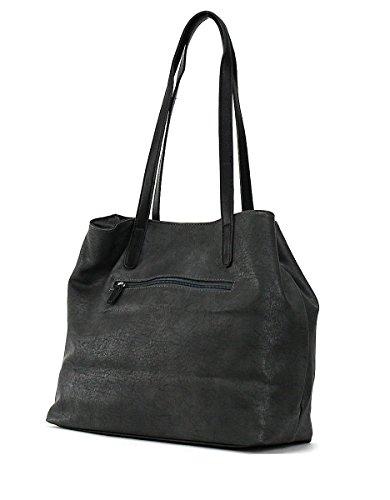 Adler Damen Tasche Schwarz Einheitsgrösse 4UlTy6Umg