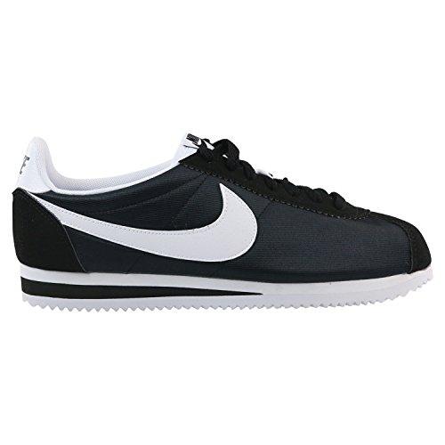 Sneakers Basses Noir Classic Femme Nylon Cortez Black 007 WMNS NIKE Black White SfXFqwIn